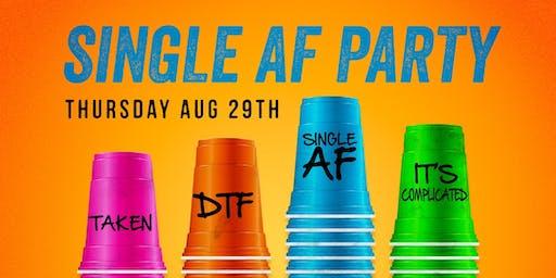 American Junkie Single AF Party Thursday