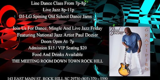Dance, Mingle And Live Jazz Friday's
