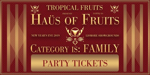 Haus of Fruits: Category is Family