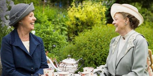 Downton Abbey Garden Tea