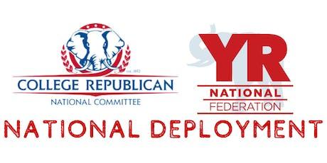 CRNC & YRNF National Deployment to North Carolina tickets