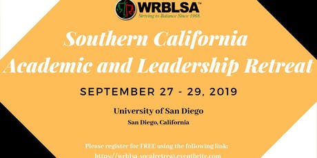 2019 WRBLSA SoCal Academic and Leadership Retreat tickets
