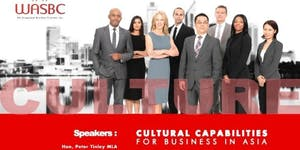 WASBC-Curtin Business Insights | Cultural Capabilities...