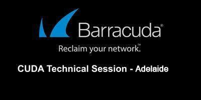 CUDA Tech Session - Adelaide September 2019