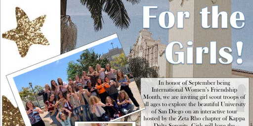 USD Campus Tour: Let's Hear it for the Girls!