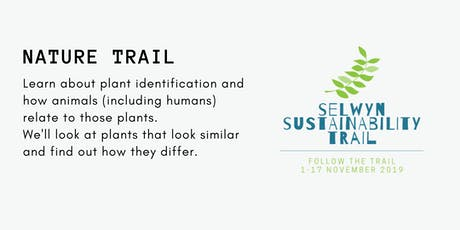 Nature Trail - Selwyn Sustainability Trail tickets