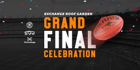 Roof Garden AFL Grand Final Celebration tickets