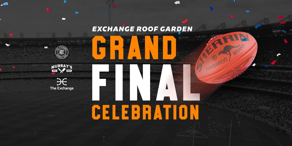 Roof Garden AFL Grand Final Celebration Tickets, Sat 28/09