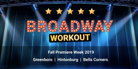 Broadway Workout - Fall Premiere Week 2019 tickets