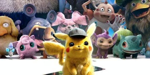 Movie Matinee - Pokemon: Detective Pikachu (Rating: PG)