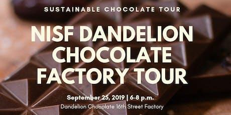 NISF Dandelion Chocolate Factory Tour tickets