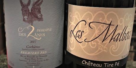 Corbières & Bordeaux Wines tickets