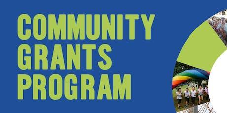 Community Grants Program Launch tickets