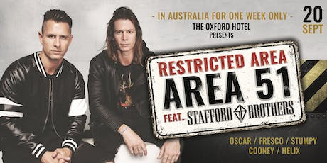 Area 51 feat. Stafford Brothers tickets