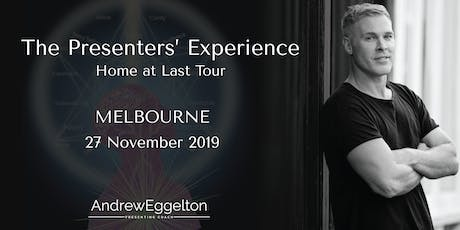 The Presenters' Experience - Melbourne tickets