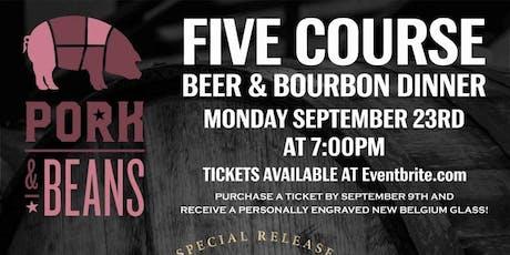 Knob Creek and New Belgium Bourbon Barrel Beer Dinner tickets
