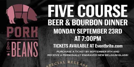 Knob Creek and New Belgium Bourbon Barrel Beer Dinner