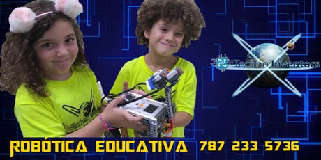 Taller Robótica y Videojuegos /Sábados, Univ. Politécnica/ 4 a18 años tickets