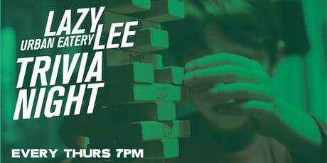Trivia Nights at Lazy Lee (feat. Quiz Meisters) tickets