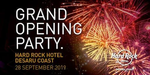 Hard Rock Hotel Desaru Coast Grand Opening Party