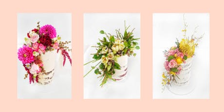 Naked, Floral Cake Class tickets