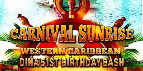 Carnival Sunrise   tickets