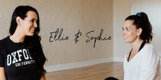 Atelier avec Sophie et Ellie