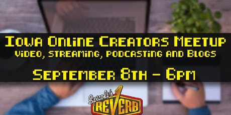 Iowa Online Creators Meetup tickets