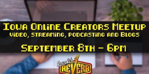 Iowa Online Creators Meetup