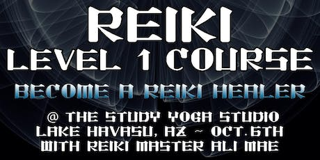 Reiki Level 1 Certifiction tickets