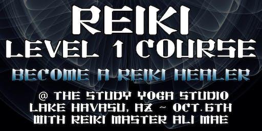 Reiki Level 1 Certifiction