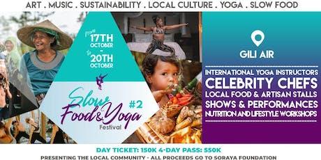 Slow Food & Yoga Festival tickets