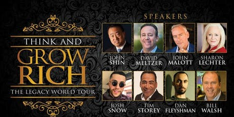 Think & Grow Rich Global Tour Dallas TX tickets
