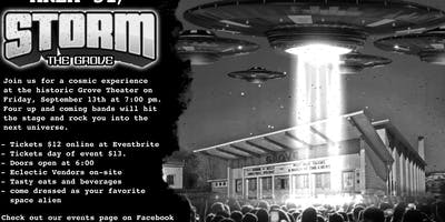 STORM THE GROVE............. theater. Forget Area 51