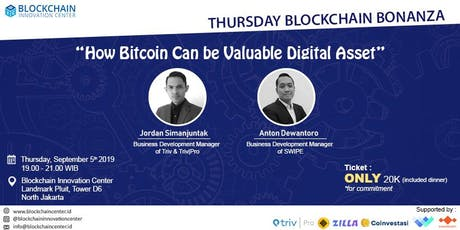 How Bitcoin Can be Valuable Digital Asset  tickets