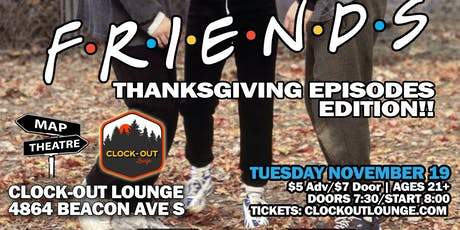 Friends Trivia (Thanksgiving episode edition) tickets
