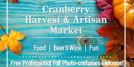 Cranberry Harvest & Artisan Market with Free Professional Photo tickets