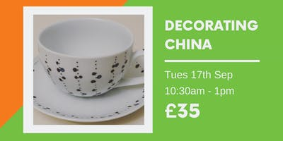 Upcycling: Decorating China