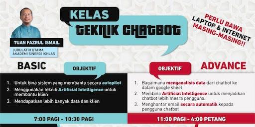 Kelas Asas dan Advance ChatBot Autochat FB dan Website