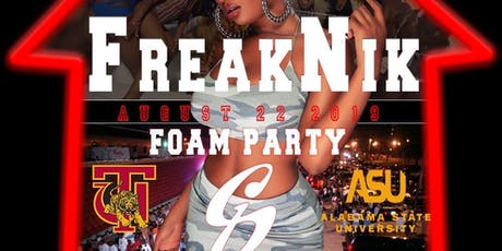 FREAKNIK Foam Party tickets