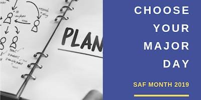 SAF Month: Choose Your Major