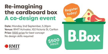 Re-Imagining the Cardboard Box – Co-Design Event tickets