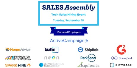 Tech Sales Hiring Event tickets
