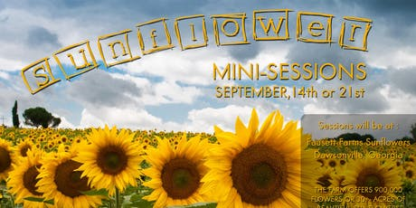 Sunflower Mini Sessions 2019 tickets