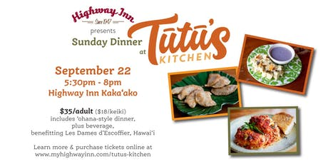 Tutu's Kitchen - Fall 2019 tickets