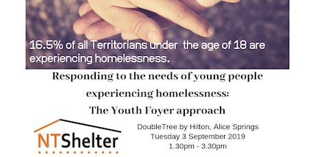 Responding to the needs of young people experiencing homelessness tickets