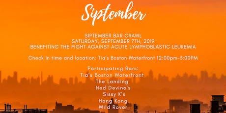 Siptember Bar Crawl tickets