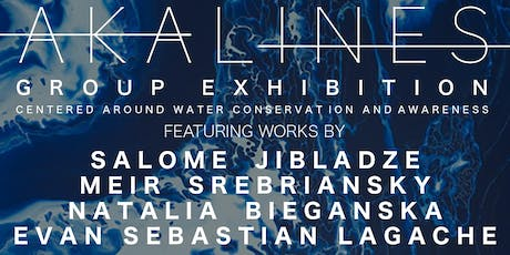 """ART APPLE NYC presents """"Akalines"""" Group Exhibition Closing Party tickets"""
