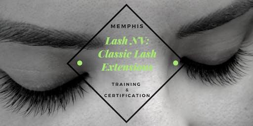 Lash NV: Classic Lash Extensions Training Class | Memphis, TN