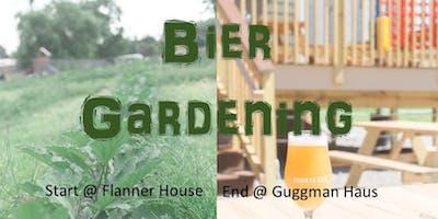 Garden Cleanup at Flanner House + Brews